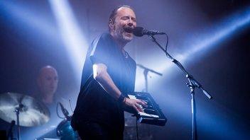 Radiohead thom yorke glatonbury 2017 photo getty images samir hussein